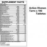 action-women-tarro x 100 tabletas