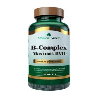 b-complex-maxi medical green 100 tablets dismundonatural