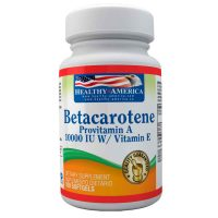 betacarotene provitamin a 10000 iu w vitamin e healthy america dismundonatural