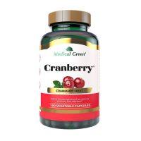 cranberry medical green 100 vegetable capsules dismundonatural