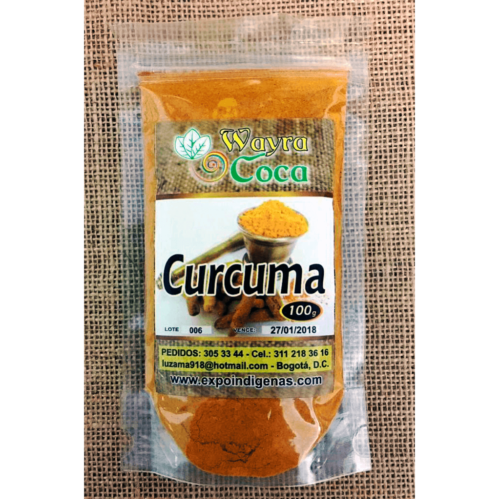 curcuma 100 grs expoindigenas dismundonatural