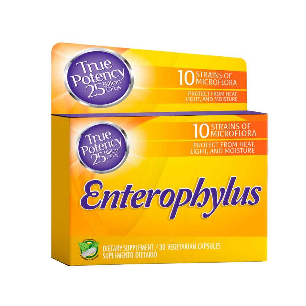 enterophylus 30 vegetarian capsules healthy america dismundonatural
