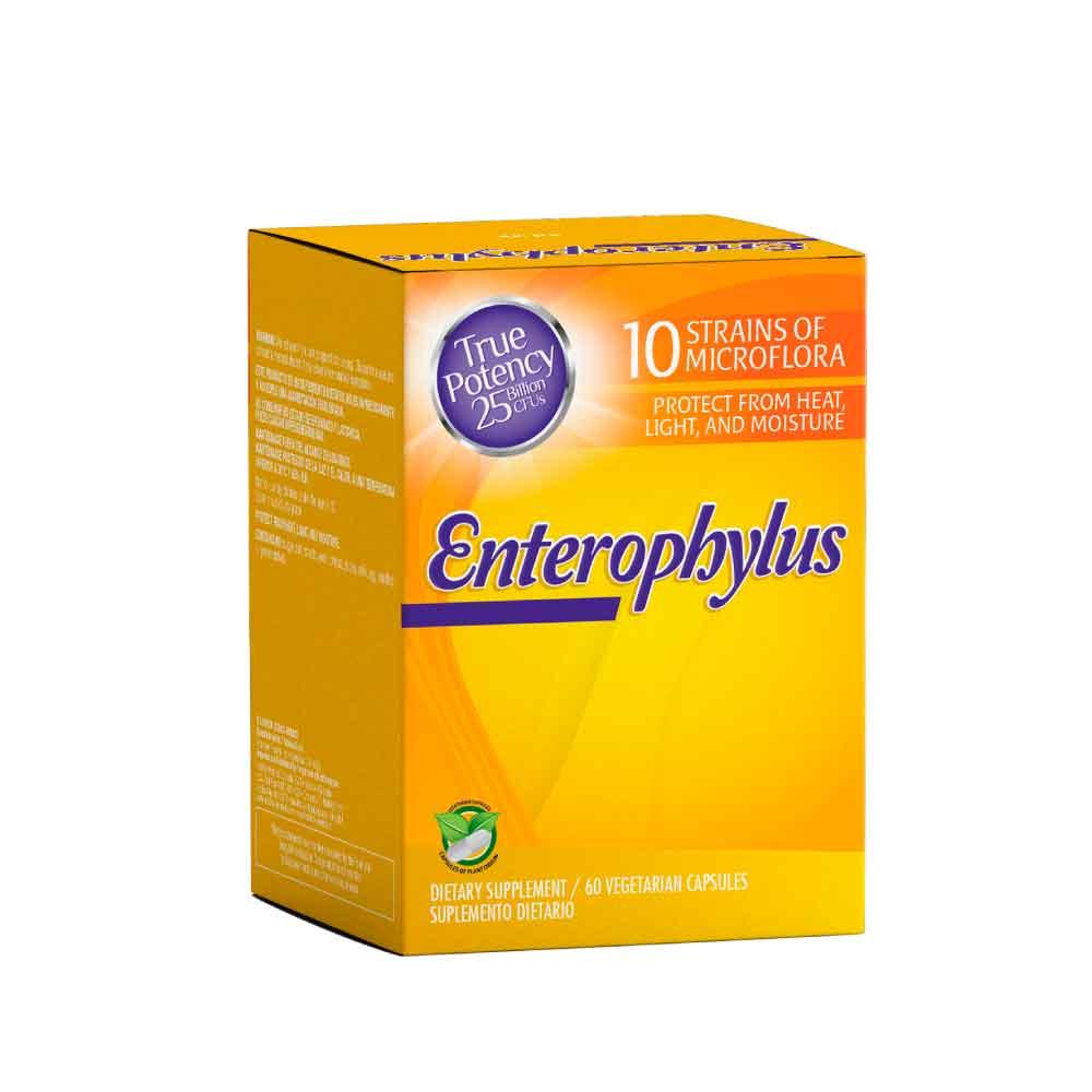 enterophylus 60 vegetarian capsules healthy america dismundonatural