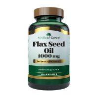Flax Seed Oil 1000 Medical Green 100 Softgels