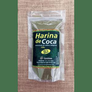 harina de coca 100 grs expoindigenas dismundonatural