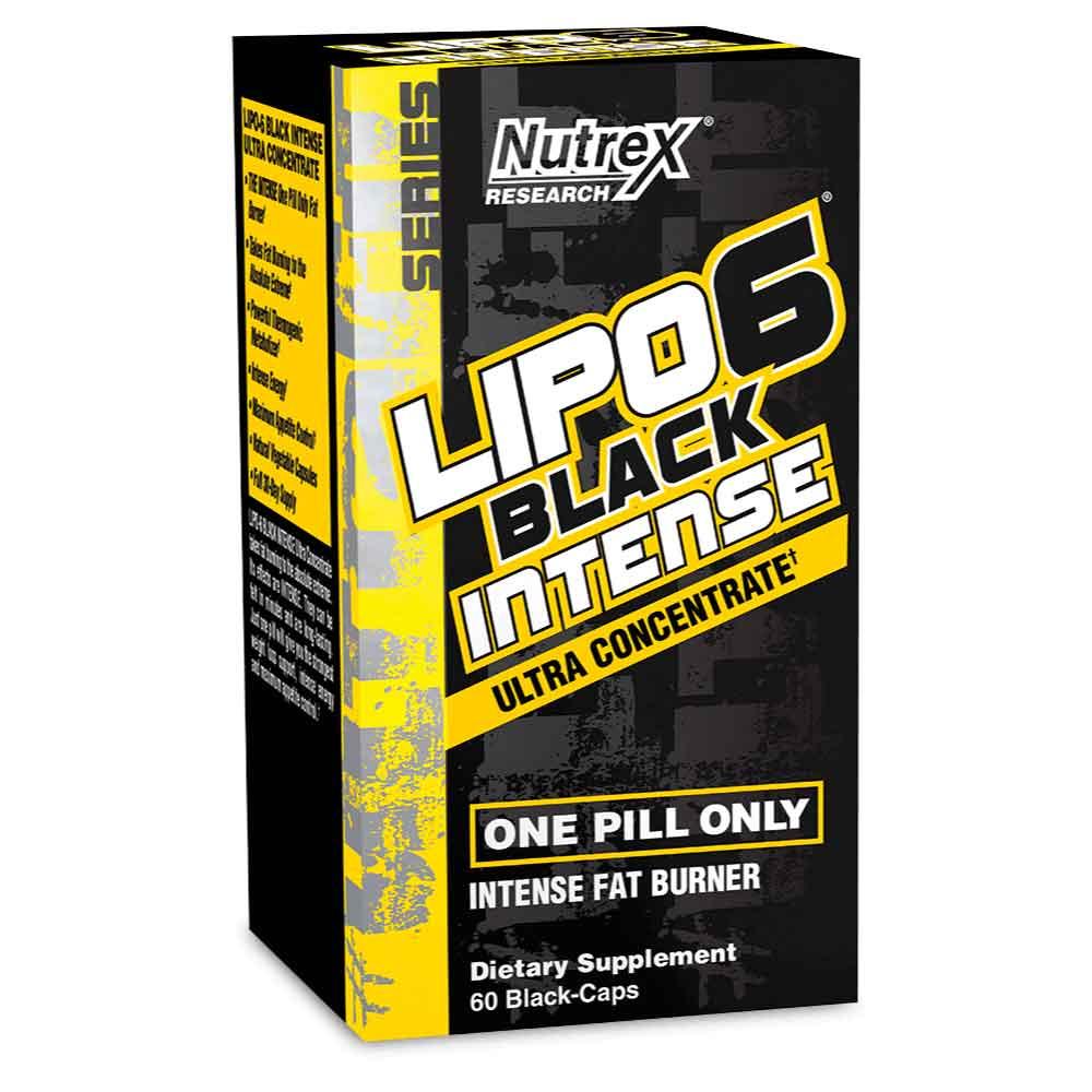 lipo 6 black ultra x 60 cápsulas nutrex dismundonatural