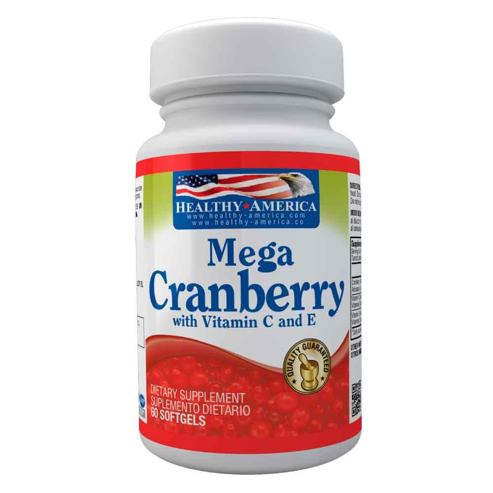 mega cranberry vitamin c y e healthy america dismundonatural