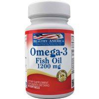 omega 3 fish oil 60 softgels healthy america dismundonatural