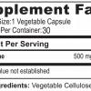 tabla nutricional l carnitine 30 capsulas vegetales reductores de peso medical green dismundonatural