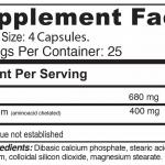 tabla nutricional magnesium chelated 100 capsulas vegetales sistema osteo muscular medical green dismundonatural