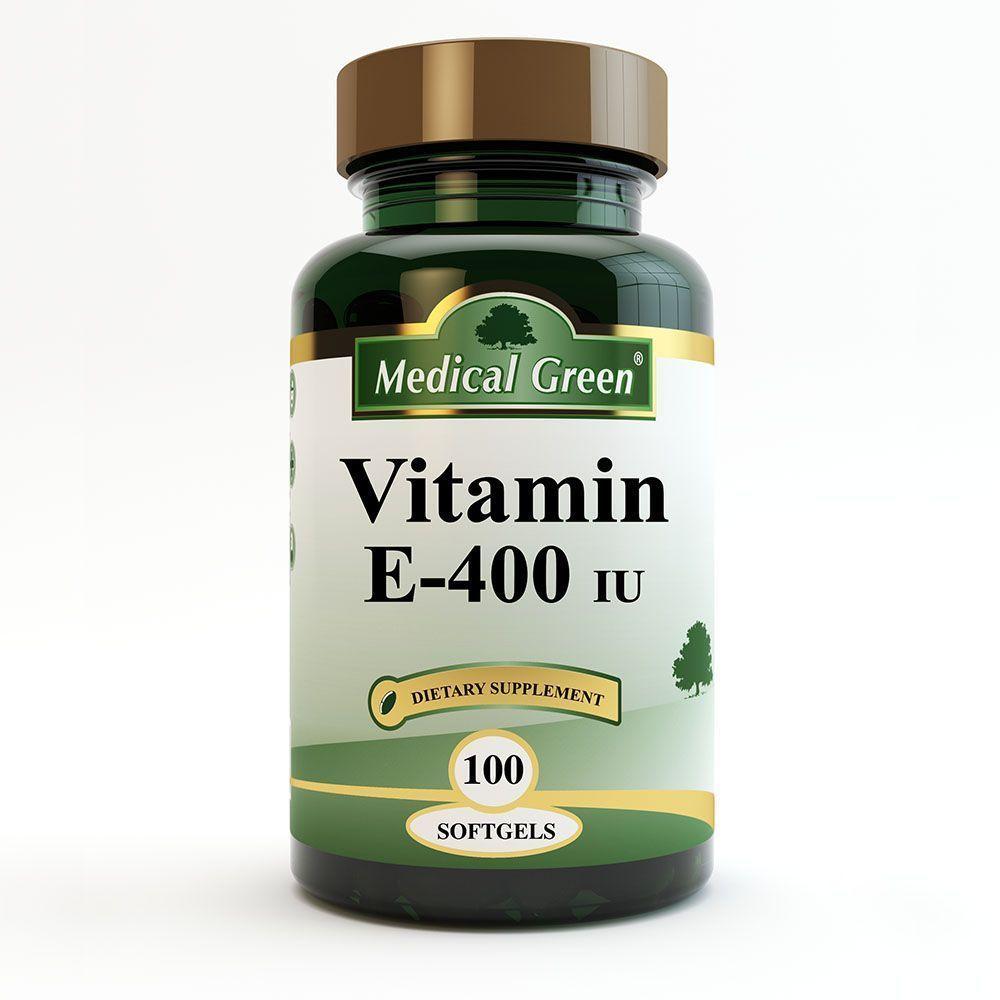 vitamina e 400 iu 100 capsulas blandas sistema tegumentario piel medical green dismundonatural
