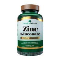zinc gluconate medical green 100 tablets dismundonatural